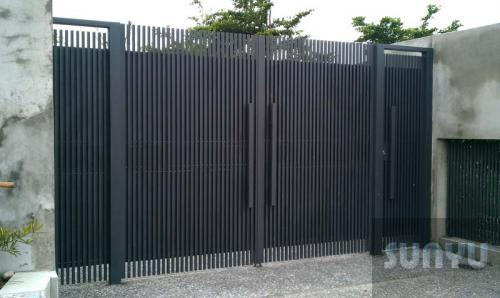 尚宇 鍛造大門 D-1022