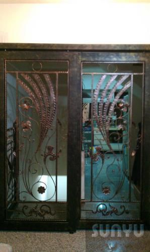 尚宇 鍛造玄關門 D-3021