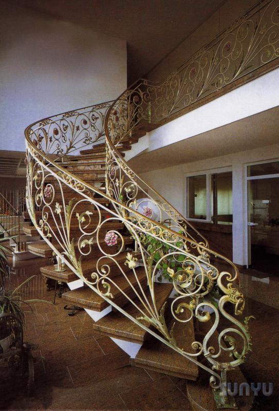 尚宇 鍛造樓梯扶手 S-0010